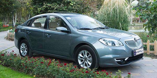 فروش اقساطی برلیانس h330 پارس خودرو