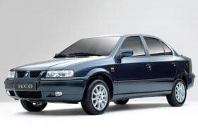 فروش اقساطی سمند EF7  ایران خودرو