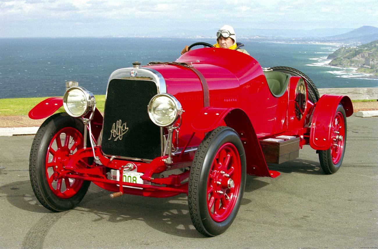 اولین اتومبیل آلفارومئو