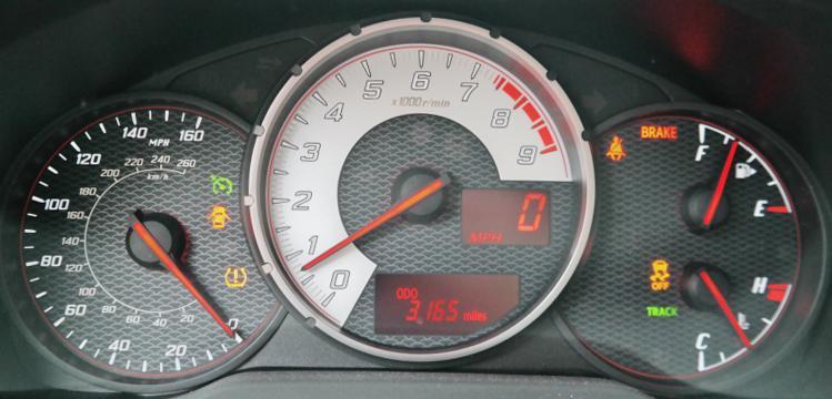 نمایشگر سرعت در جی تی 86
