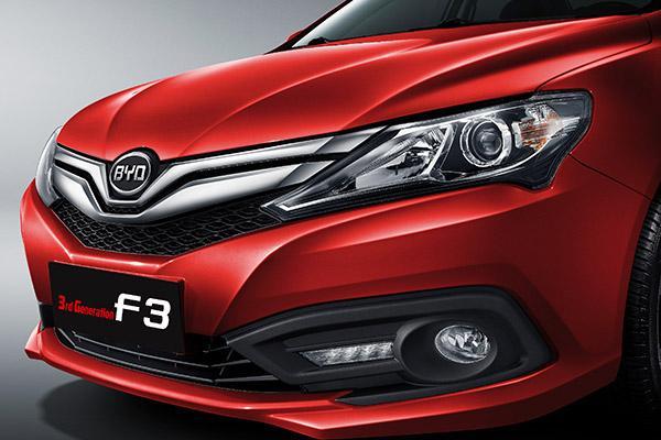 فروش اقساطی بی وای دی اف 3 جدید در سپند خودرو