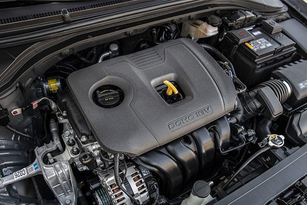 مشخصات فنی موتور و پیشرانه هیوندای النترا