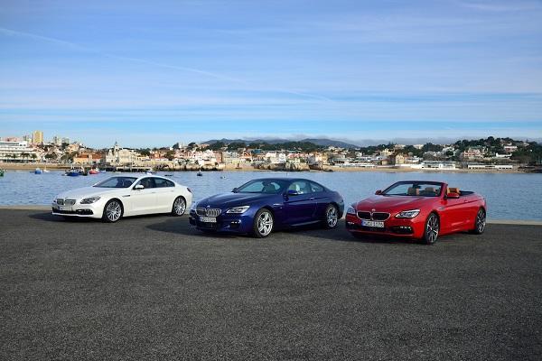 سه مدل خانواده بی ام و سری 6