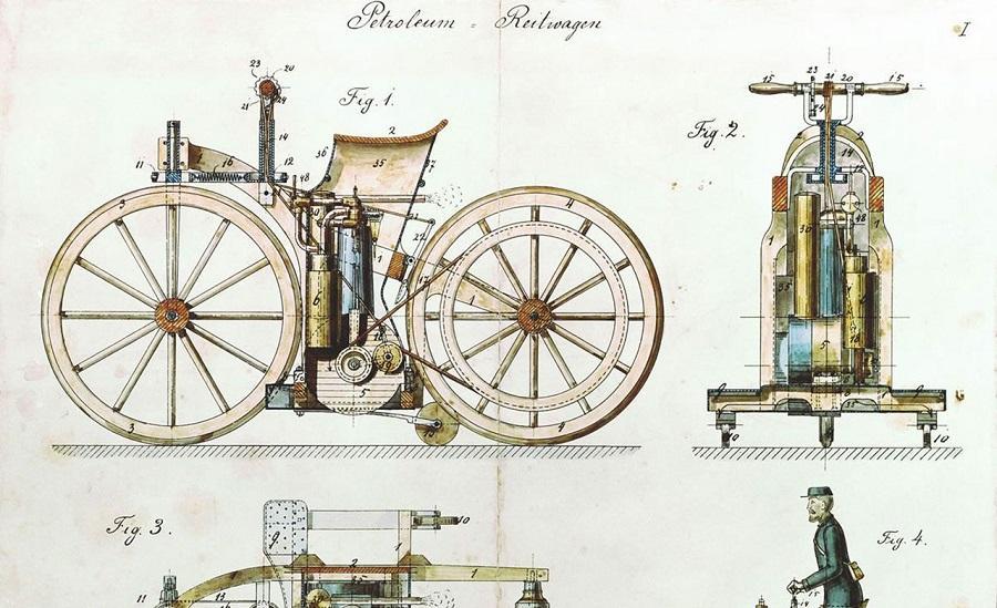 موتورسیکلت گاتلیب دایملر