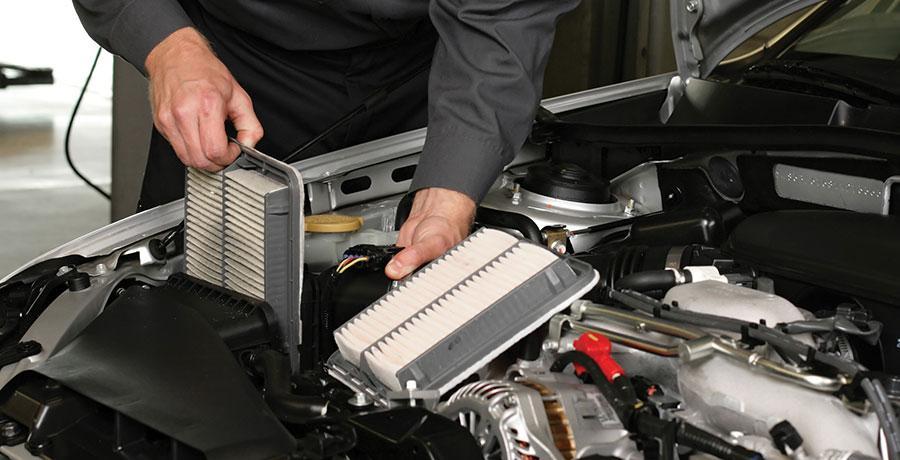 تاثیر فیلتر هوا در شتاب خودرو