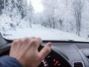 رانندگی در برف
