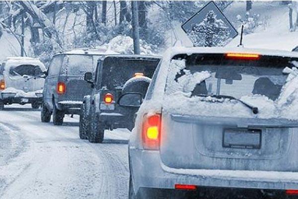 نکات رانندگی در جاده های برفی