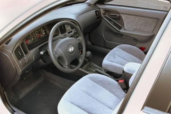 صندلی های داخلی خودرو هیوندای آوانته