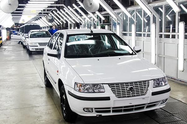 تصویری از خط تولید سمند، اولین خودرو ملی ایران