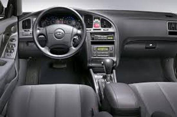 کابین داخلی خودرو هیوندای آوانته