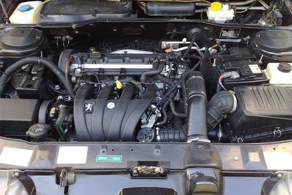 مشخصات موتور تیوفایو پژوپارس