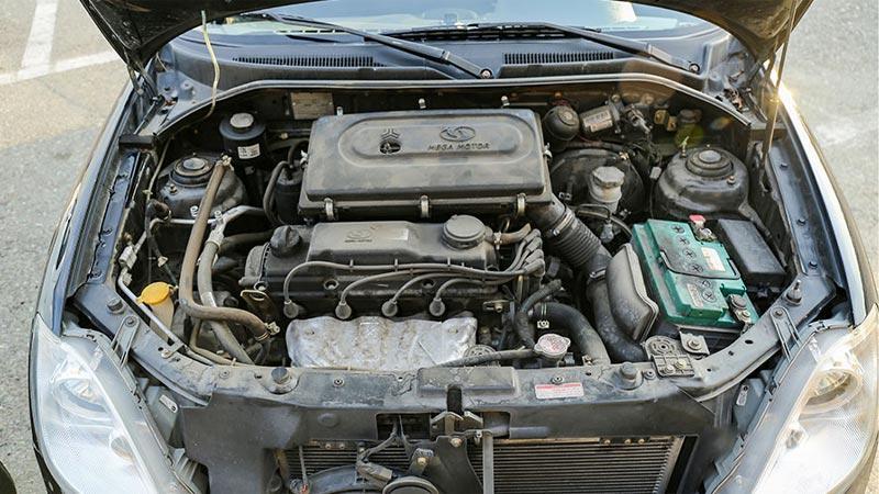 ظاهر موتور M15 در خودرو تیبا 2