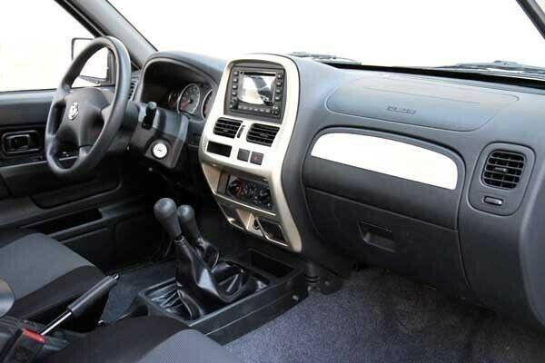 طراحی داخلی پیکاپ ریچ پارس خودرو